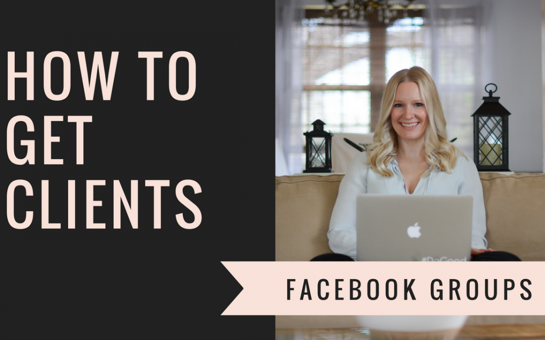 Video: How to Find Clients in Facebook Groups