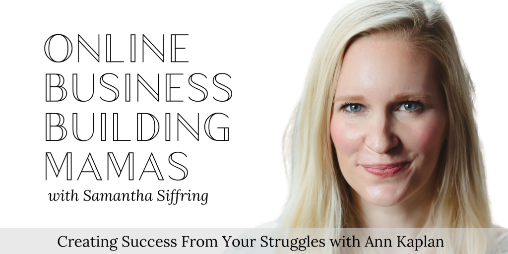 Creating Success From Your Struggles Podcast Image